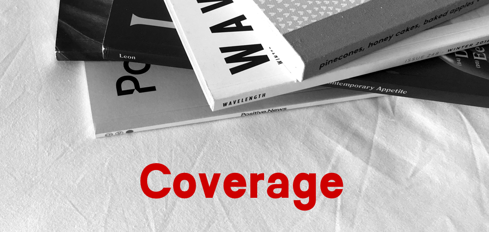 Coverage, an indie magazine newsletter by Dan Rowden