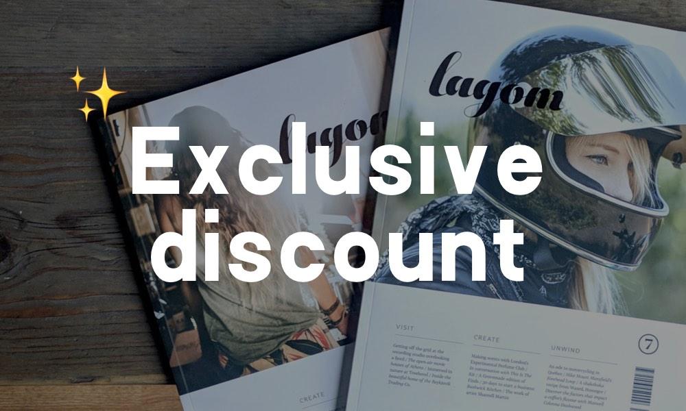 Lagom discount!