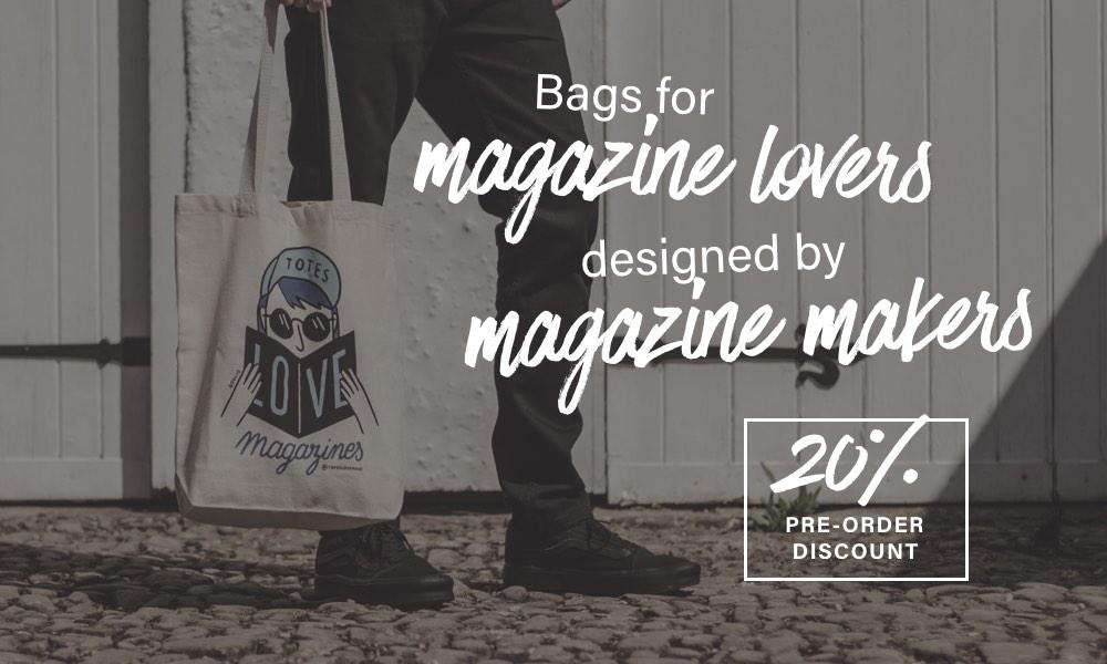 Totes Love Magazines