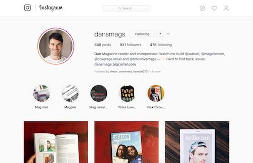 @dansmags on Instagram